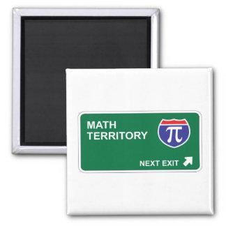 Math Next Exit 2 Inch Square Magnet