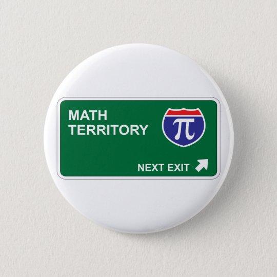 Math Next Exit Pinback Button