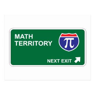 Math Next Exit Postcard