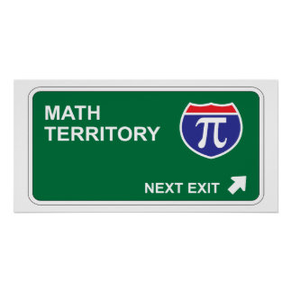 Math Next Exit Posters