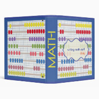 Math Notebook - back to school binders