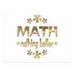 MATH Nothing Better Post Card