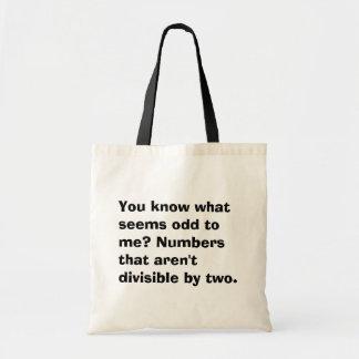 Math Odd Tote Bag
