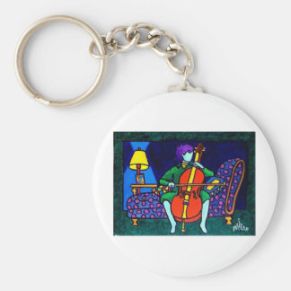 Math of the Soul by Piliero Basic Round Button Keychain