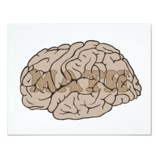 Math On The Brain Card