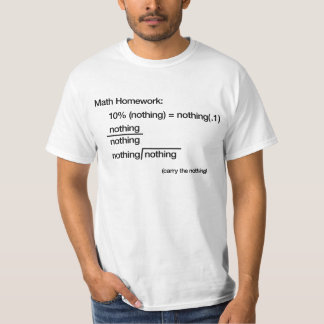 Math on White - Men's T-Shirt