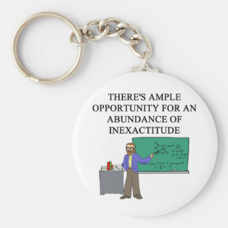 MATH onfusion Basic Round Button Keychain
