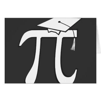 Math Pi Graduate Greeting Cards