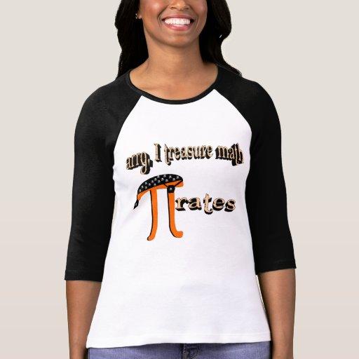Math PI-rates (shadowed) Shirt