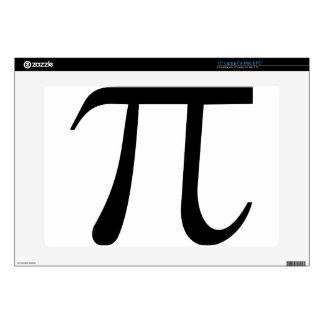 """Math Pi Symbol 15"""" Laptop Skins"""