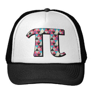 Math Pi With Cool Diamond Pattern Trucker Hat