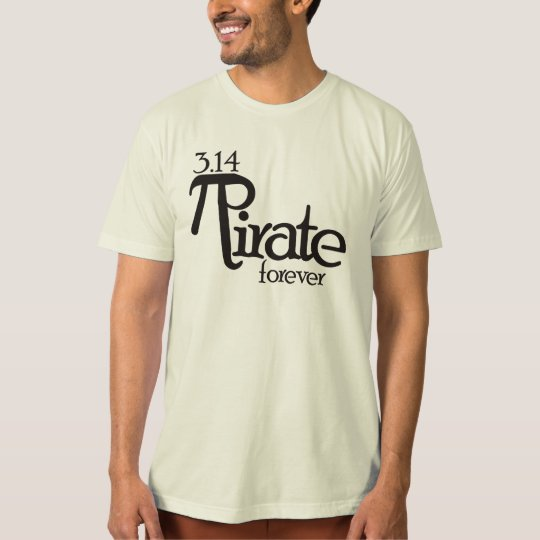 Math Pirate for Pi Day T-Shirt