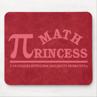 Math Princess Mouse Pad