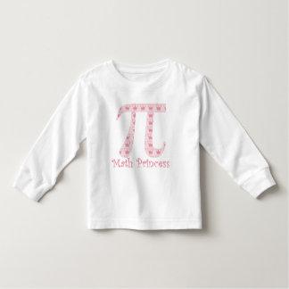 Math Princess Pi Toddler T-shirt