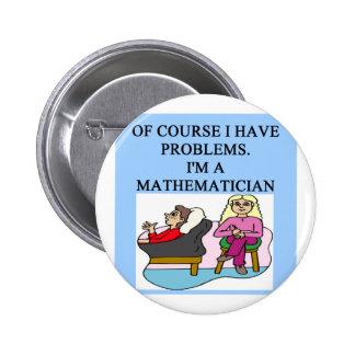 MATH psychology joke Button