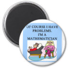 MATH psychology joke Magnet