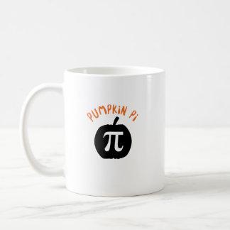 Math Pun Pumpkin Pi Funny Halloweens Coffee Mug