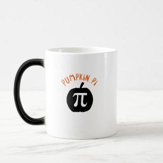 Math Pun Pumpkin Pi Funny Halloweens Magic Mug