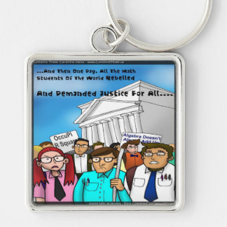 Math Revolt Funny Gifts Tees & Cards Keychain