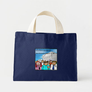 Math Revolt Funny Gifts Tees & Cards Mini Tote Bag