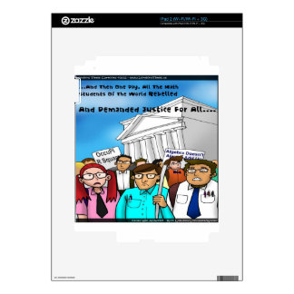 Math Revolt Funny Gifts Tees & Cards Skin For The iPad 2