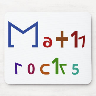 Math Rocks Mouse Pad