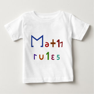 Math Rules Baby T-Shirt