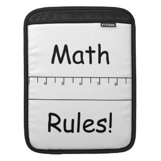 Math Rules! Sleeves For iPads