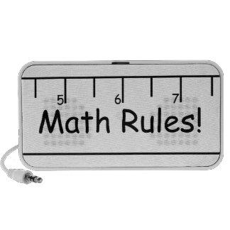Math Rules! iPod Speaker