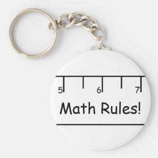 Math Rules! Keychain