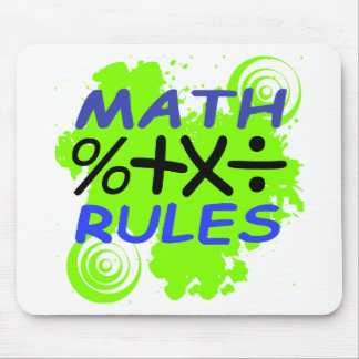 Math Rules Mouse Pad