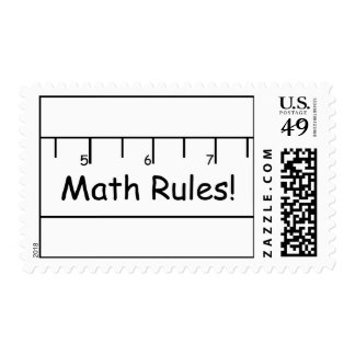 Math Rules! Stamps