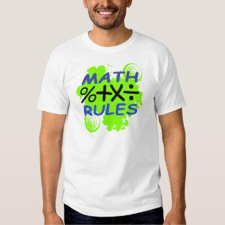 Math Rules T Shirt