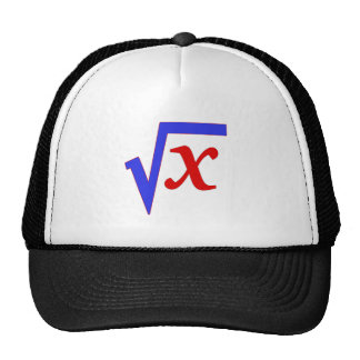 Math - Square Root of X Trucker Hat