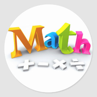 math sticker