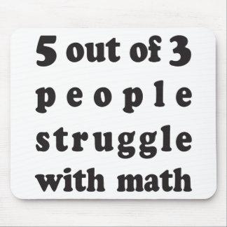 Math Struggle Mouse Pad