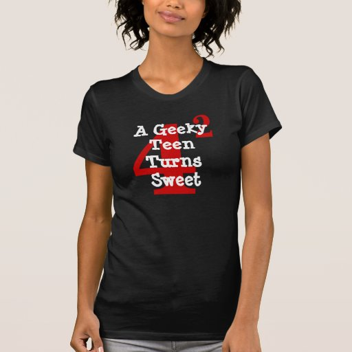 "Math Students ""Sweet 16"" RED MARK DESIGN T-Shirt"