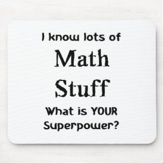 math stuff mouse pad