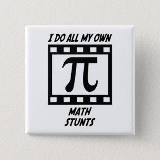 Math Stunts Pinback Button
