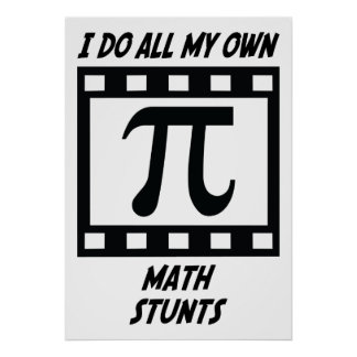 Math Stunts Posters