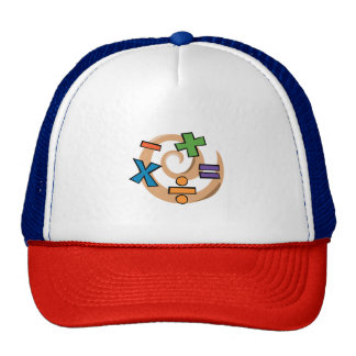 Math Symbols Trucker Hat