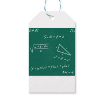 math teacher algebra geek gift tags