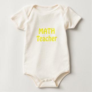 Math Teacher Baby Creeper