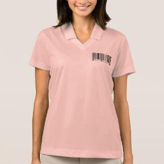 Math Teacher Barcode Polo Shirt