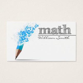 Math Teacher Business card