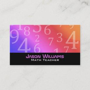 Calculus business cards zazzle math teacher business cards reheart Gallery