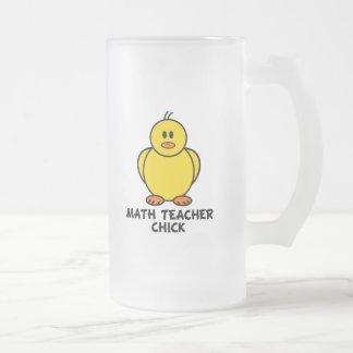 Math Teacher Chick Coffee Mug