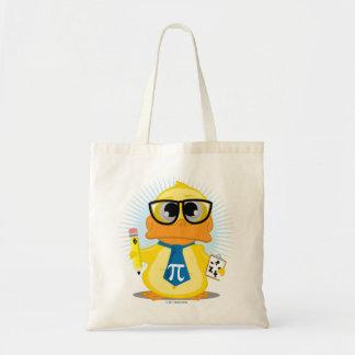 Math Teacher Duck Tote Bag
