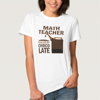 Math Teacher (Funny) Chocolate Shirt