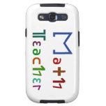 Math Teacher Galaxy S3 Case